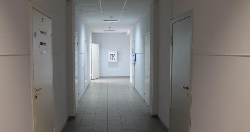 Аренда офисов на пр. Победы, д. 85 в Череповце - коридор
