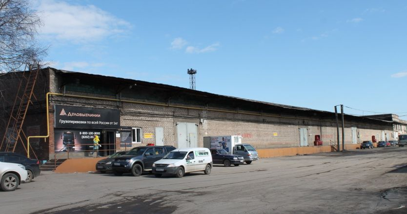 Тёплые склады на базе ул. Промышленная в Череповце - вид снаружи