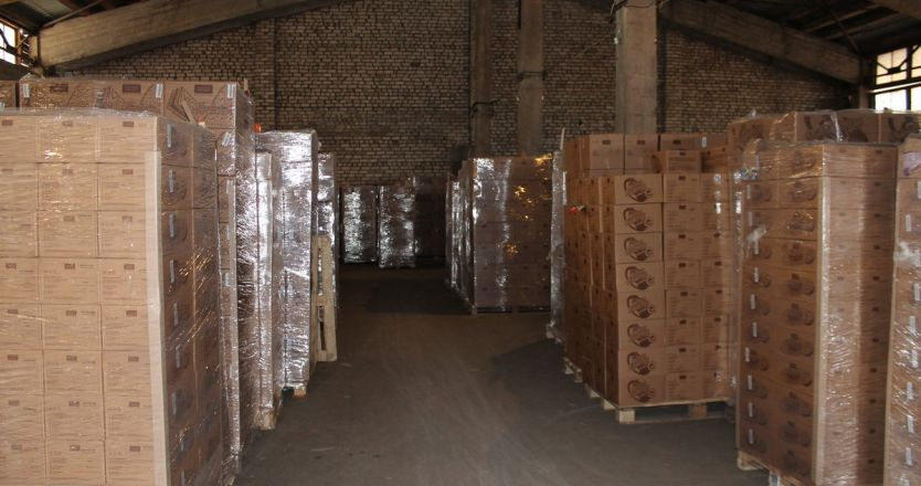 Аренда склада в Череповце на базе ул. Промышленная, 7 - внутри помещения