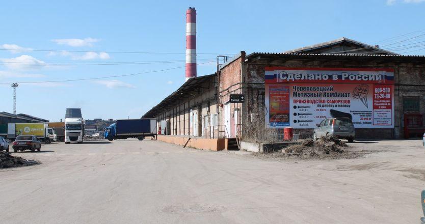 Аренда склада в Череповце на базе ул. Промышленная, 7 - дорога