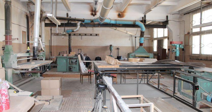Аренда производственных помещений пр. Строителей, 28а - производственный цех